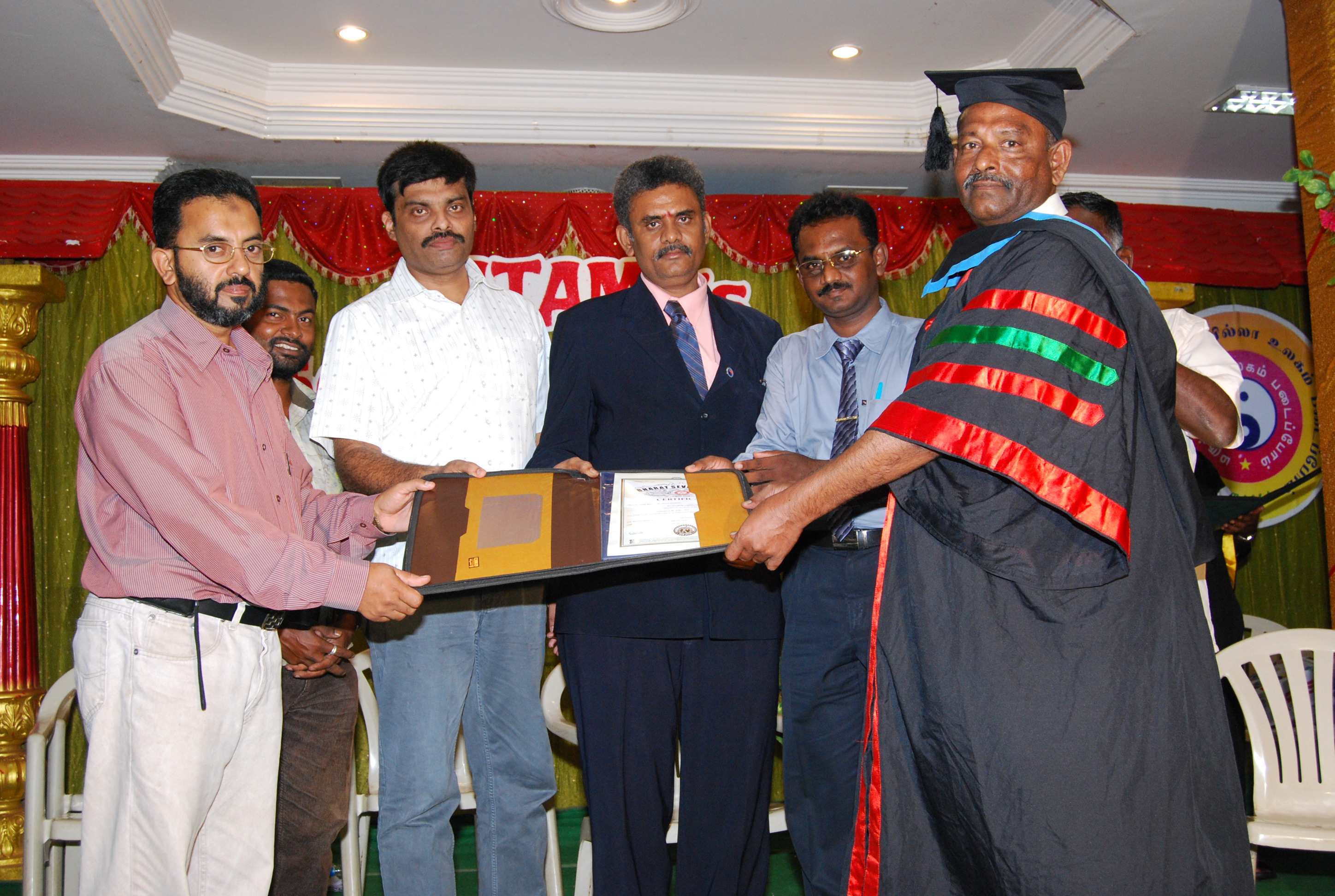 Issuing Acu. Diploma Certificates to Diploma holders