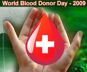 World Blood Donor Day 2009